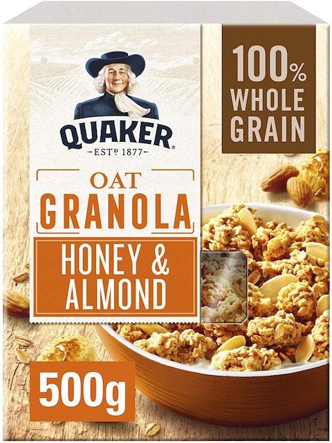 Quaker Honey & Almond Granola 1