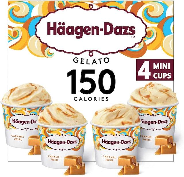 Haagen Dazs Caramel Swirl Gelato Mini Cup Collection 1