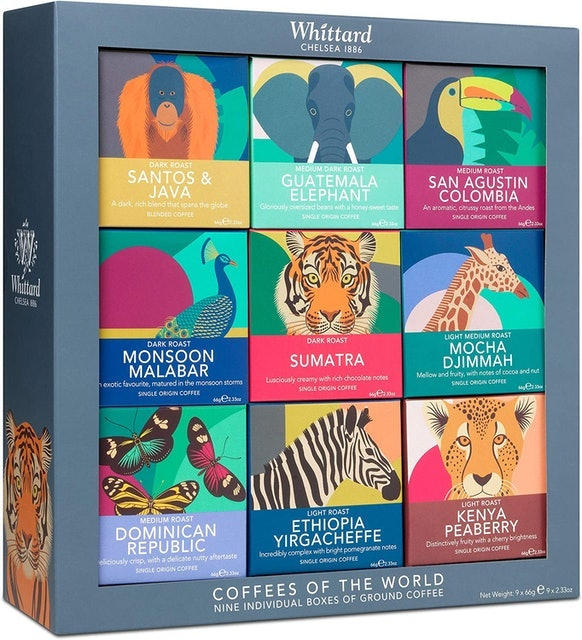 Whittard of Chelsea Coffees of The World Gift Set 1