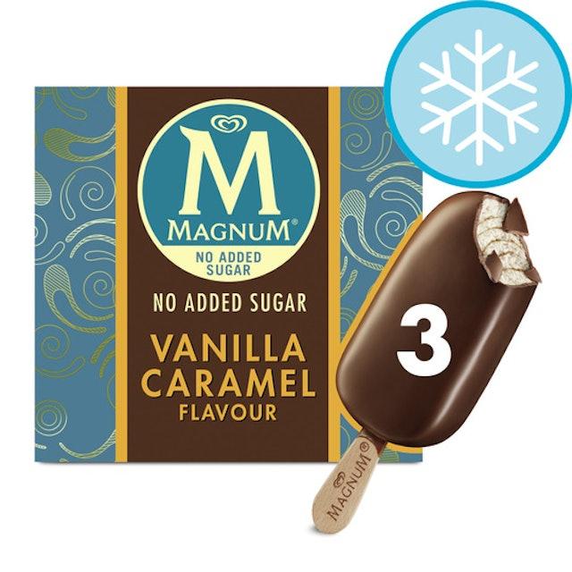 Magnum Vanilla Caramel No Added Sugar Ice Cream 1