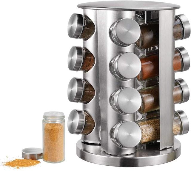 Wa-Very 16-Jar Revolving Countertop Spice Rack 1