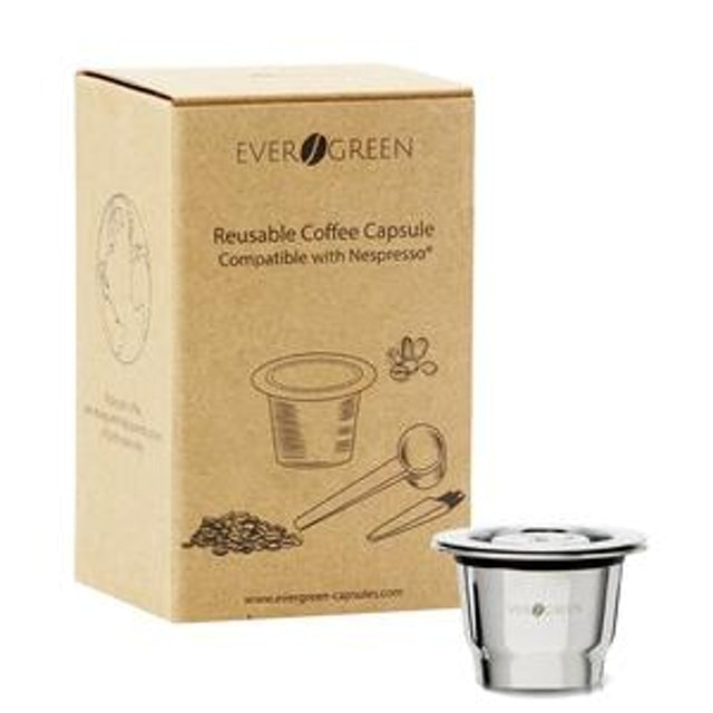 Evergreen Reusable Capsule for Nespresso 1