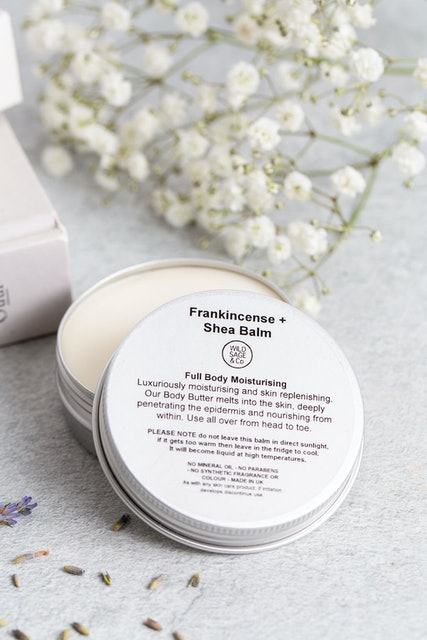 Wild Sage and Co Frankincense + Shea Balm 1