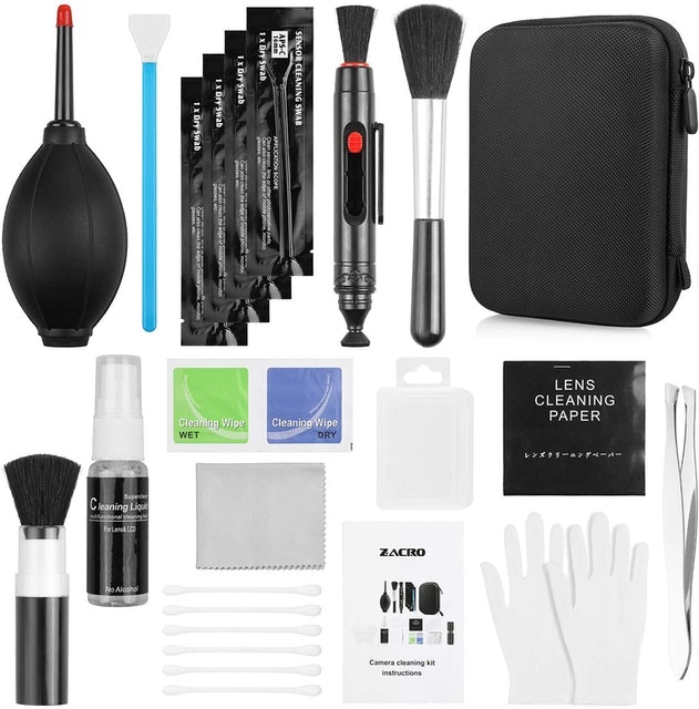 Zacro Professional Camera Cleaning Kit with Blowing Bottle, Cleaning Solution 1