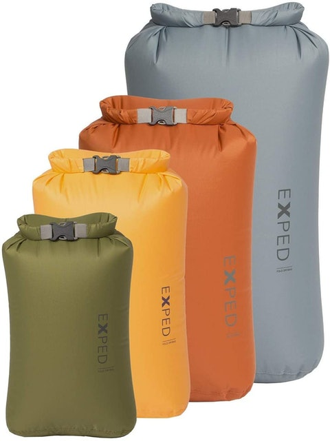 Exped Fold Dry Bag Classic 4 Pack 1