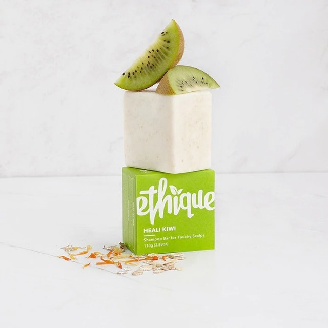 Ethique  Heali Kiwi Shampoo Bar For Touchy Scalps 1