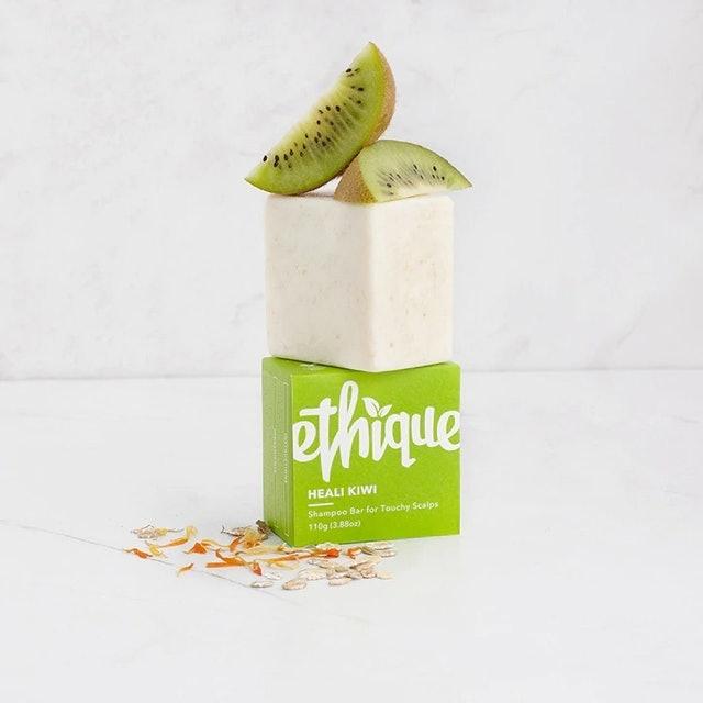Ethique  Heali Kiwi Shampoo Bar For Touchy Scalps 1