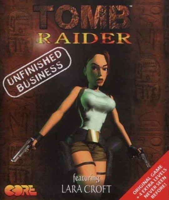 Eidos USA Tomb Raider Unfinished Business 1