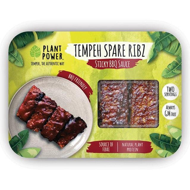 Plant Power Sticky BBQ Spare Ribz 1