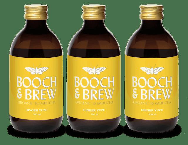 Booch and Brew Organic Ginger Yuzu 1