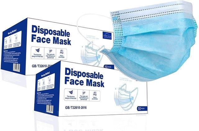 VIROSA Disposable Face Masks 1