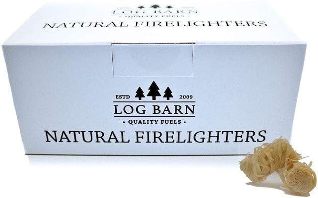 Log Barn Natural Eco Wood Firelighters 1