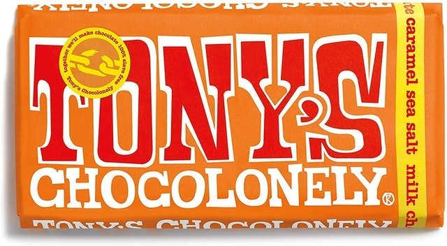 Tony's Chocolonely Chocolate Bar 1