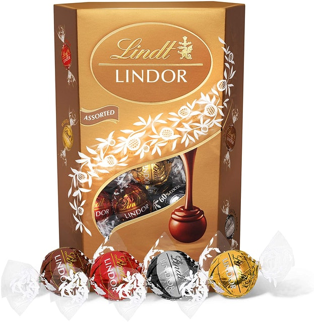 Lindt Lindor Assorted Chocolate Truffles Box 1