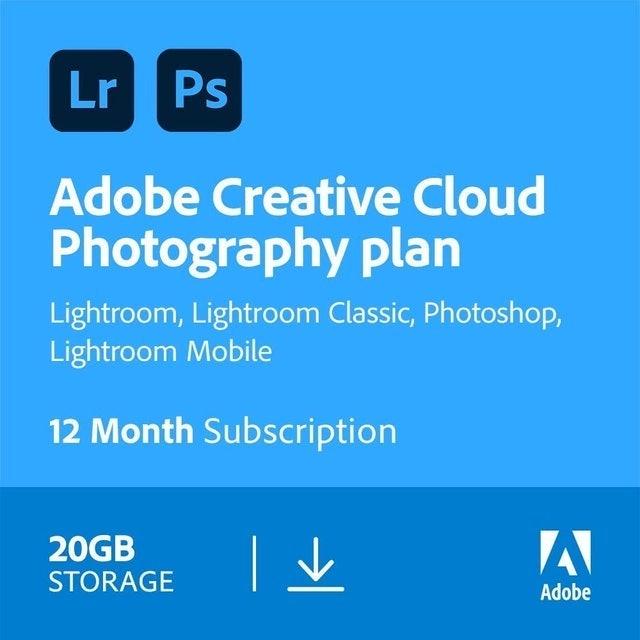 Adobe Adobe Creative Cloud Photography Plan  1