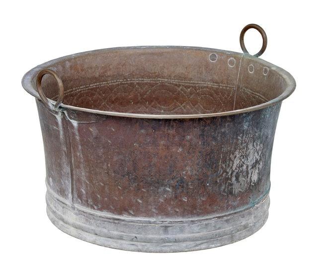 Various Sellers Copper Vintage Sink 1