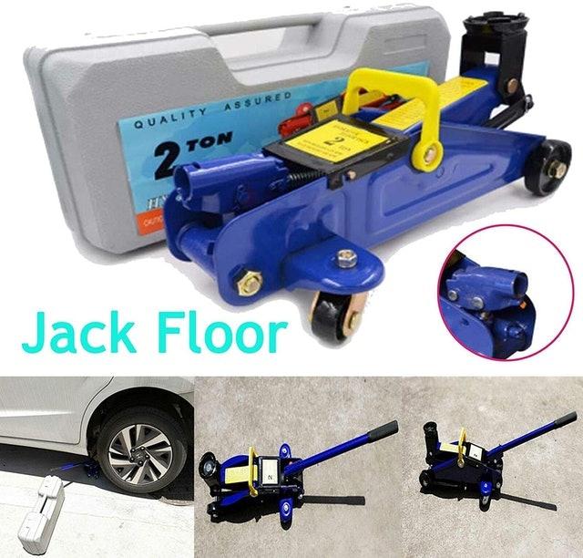Huini Hydraulic Car Trolley 1