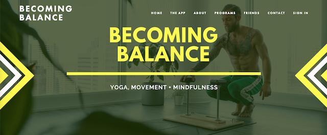 Daniel Rama Becoming Balance App 1