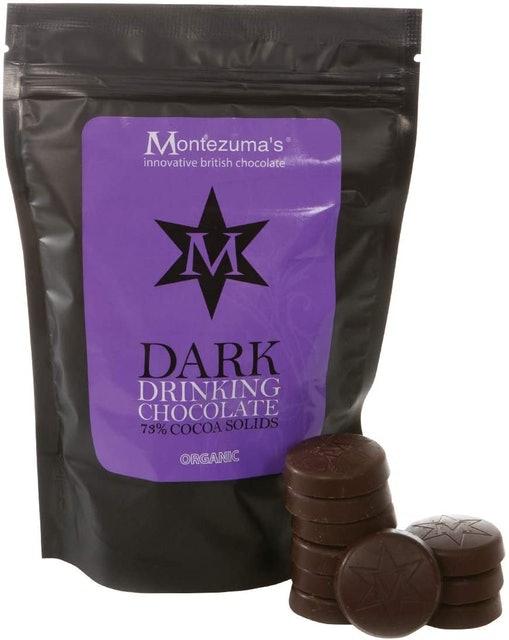 Montezuma's 73% Cocoa Dark Drinking Chocolate Disks 1