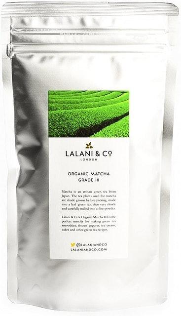 Lalani and Co Organic Matcha Grade III  1