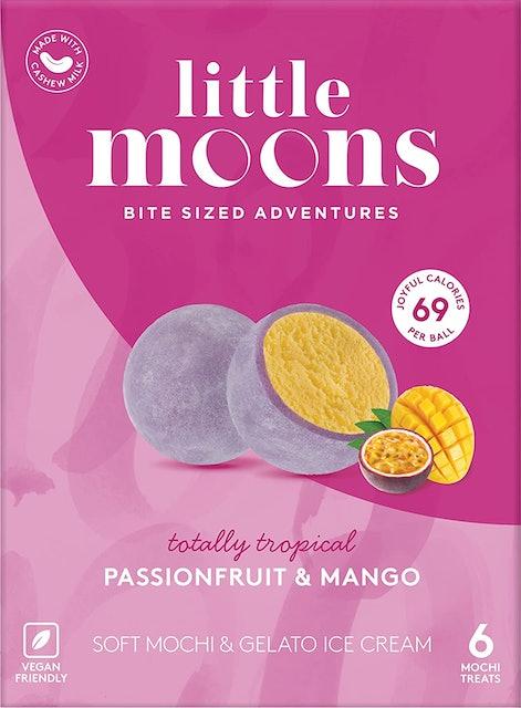 Little Moons Vegan Tropical Passionfruit and Mango Mochi Ice Cream 1
