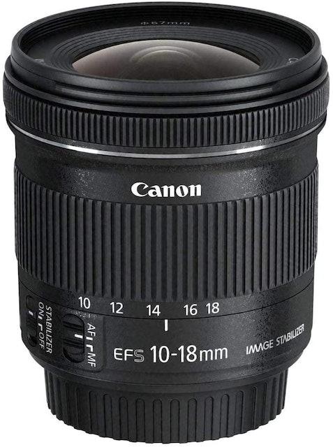Canon EF-S10-18 mm f/4.5-5.6 IS STM Lens 1
