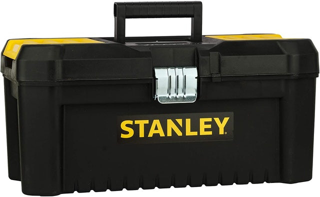 """Stanley Essential 16"""" Toolbox With Metal latches 1"""