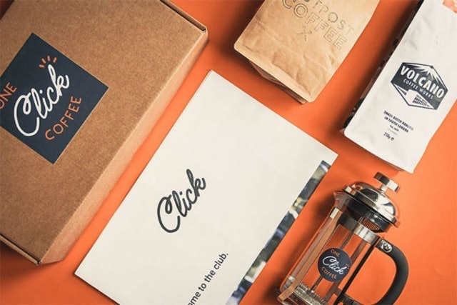 One Click Coffee  Filter Coffee Subscription Box 1