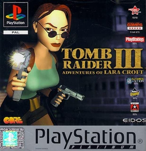 Core Design Tomb Raider III Adventures of Lara Croft 1