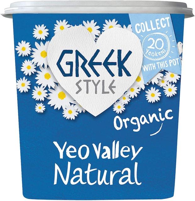 Yeo Valley Greek Style Natural Yoghurt 1