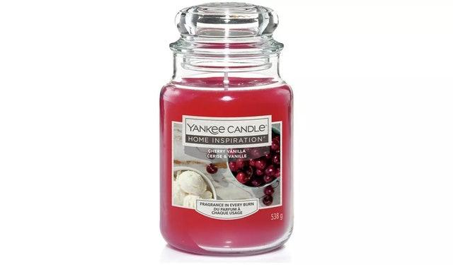 Yankee Candle Cherry Vanilla Candle 1