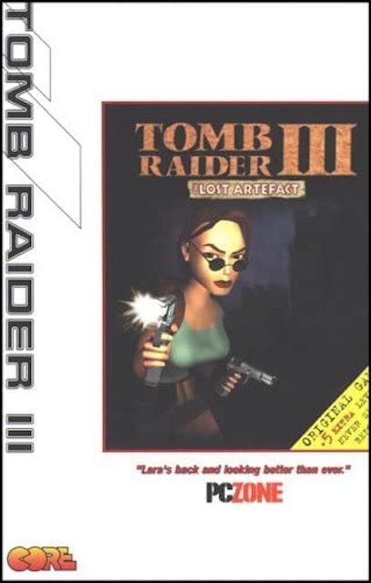 Core Design Tomb Raider 3 The Lost Artefact 1