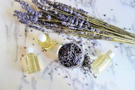 Lavender and Chamomile Are Deeply Relaxing; Perfect for Bed Time