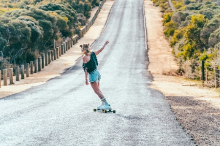 Longboards Have an Extremely Stable Platform With the Intention to Fly