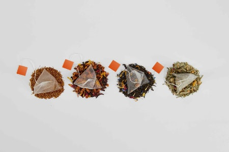 Pyramid Bags Allow Tea Leaves to Move and Infuse More Intensely