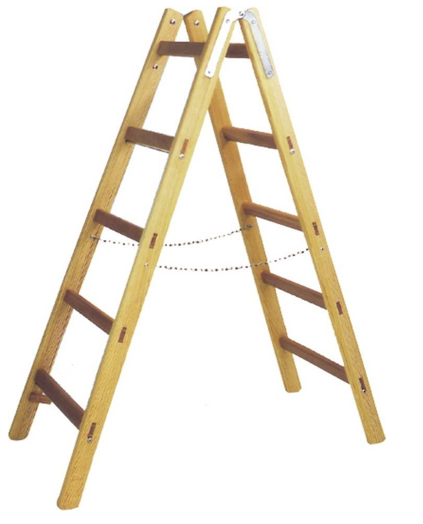 While Wooden Ladders Are Affordable, They Aren't Suitable for Use in the Rain