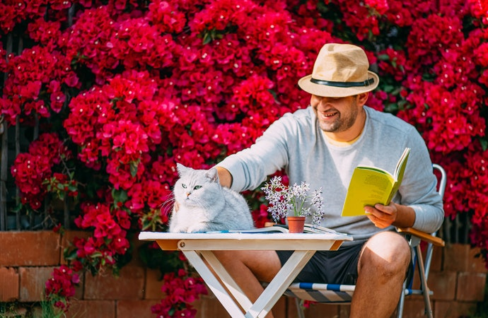 Paperback Is Great for Use in the Garden, Hardbacks Make Beautiful Gifts