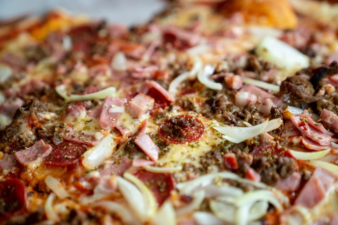 Meaty Toppings Are Traditional Yet Delicious