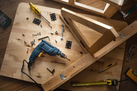 Check the Assembly Instructions as Some Tables Will Need to Be Fully Built