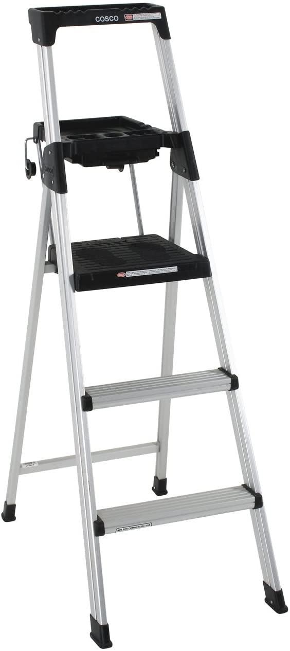 Use a Platform Step Ladder for Added Security