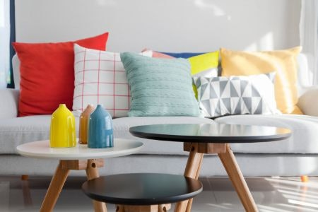 Cushions Can Help Inject Colour Into Your Interior