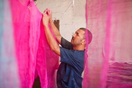 Acid Dye Works Well With Protein Fibres Like Wool and Silk