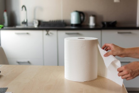 Check the Dimensions, Especially if You Want to Fit In a Mega-Sized Kitchen Roll!