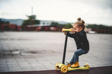 Three-Wheeled Scooters Are Best for Younger Riders Who Are Still Learning the Ropes