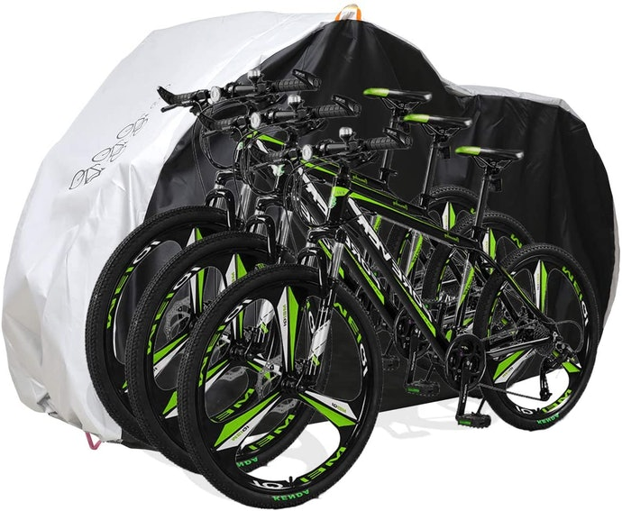 Bike Covers Can Be Made to Fit 1, 2 or 3 Bikes