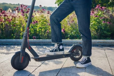 Electric Scooters Use a Rechargeable Battery and Are More Stable