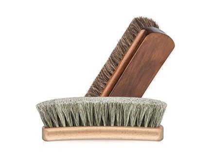 Horsehair Brushes Are Used for Shining and Buffing