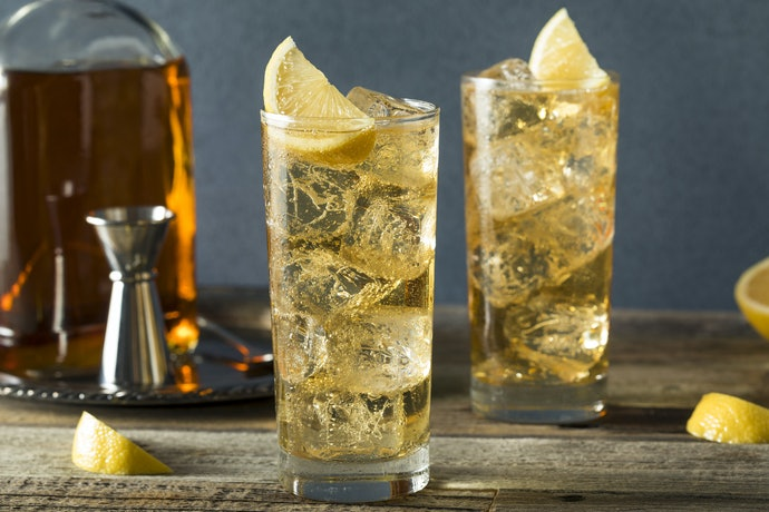 A Highball Glass for Mixed Drinks