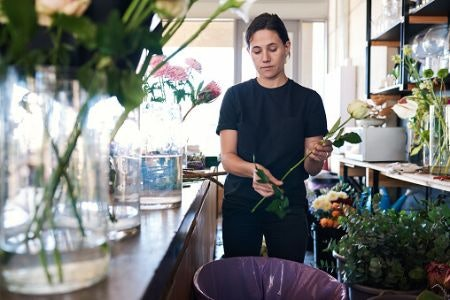 Consider the Size and Weight of the Vase to Ensure It'll Complement Your Blooms