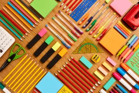 Stock Up on Stationary to Help You Learn